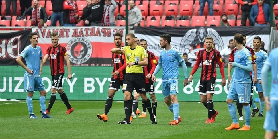 379da2bc9f245 Highlights: FC Spartak Trnava - ŠK Slovan Bratislava (1:0) :: ŠK ...