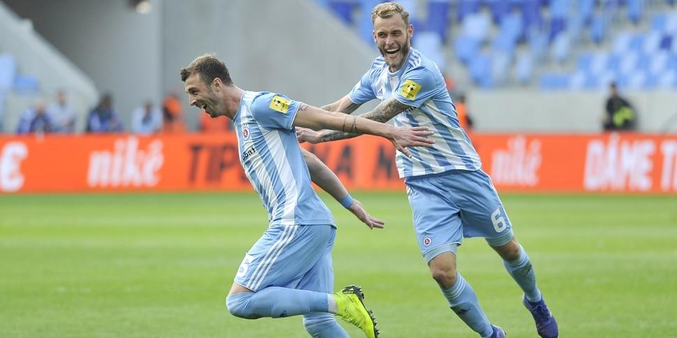 5818c61e2407d Highlights: Slovan - Michalovce (4:1) :: ŠK Slovan Bratislava - official  football club website
